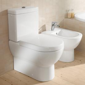Villeroy & Boch Subway floorstanding close-coupled washdown toilet white, with CeramicPlus