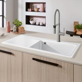 Villeroy & Boch Subway Style 60 sink white alpine high gloss/position borehole 2
