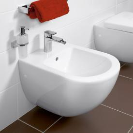 Villeroy & Boch Subway wall-mounted bidet white, with CeramicPlus