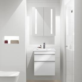 Villeroy & Boch Venticello hand washbasin with vanity unit and My View 14 mirror cabinet