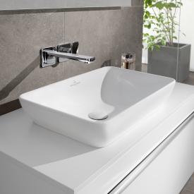 Villeroy & Boch Venticello semi-recessed countertop washbasin white, with CeramicPlus