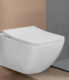 Villeroy & Boch Venticello toilet seat SlimSeat, removable, with soft close