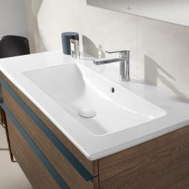 Villeroy & Boch Venticello vanity washbasin white, with CeramicPlus, with 1 tap hole punched through