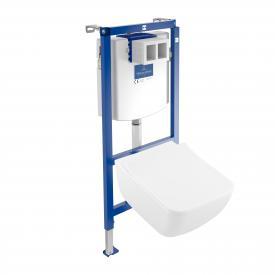 Villeroy & Boch Venticello & ViConnect NEW complete set wall-mounted washdown toilet, open rim white, with CeramicPlus