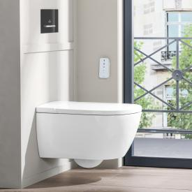 Villeroy & Boch ViClean I100 WC lavant, bride plate, DirectFlush, avec abattant blanc