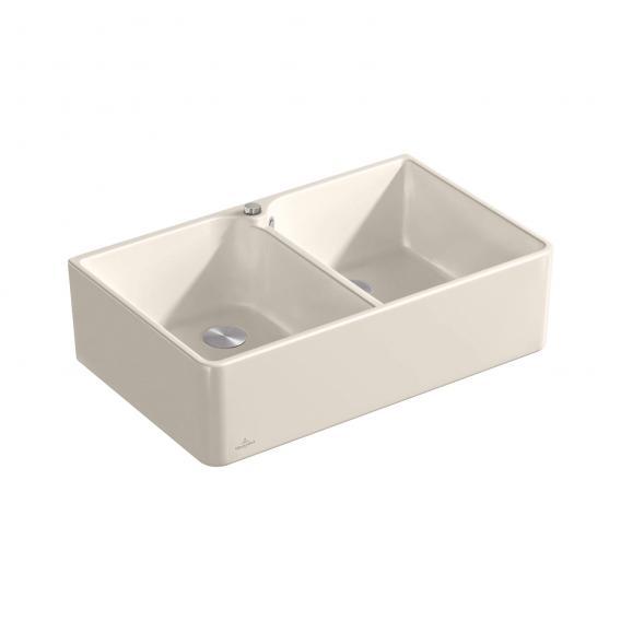 Villeroy & Boch 80 X butler sink cream gloss