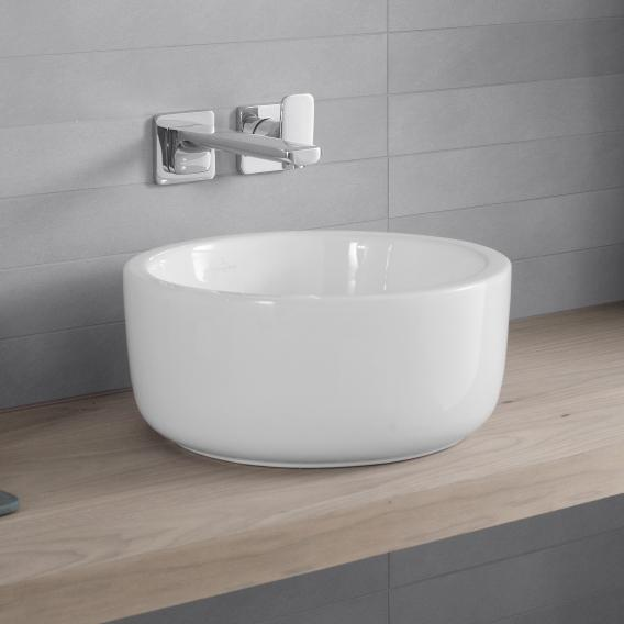 Villeroy & Boch Architectura countertop washbasin white, with CeramicPlus with overflow
