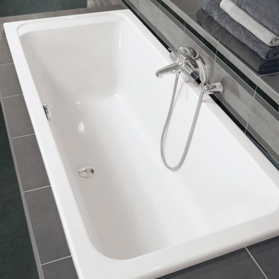 Villeroy & Boch Architectura Duo rectangular bath, built-in white