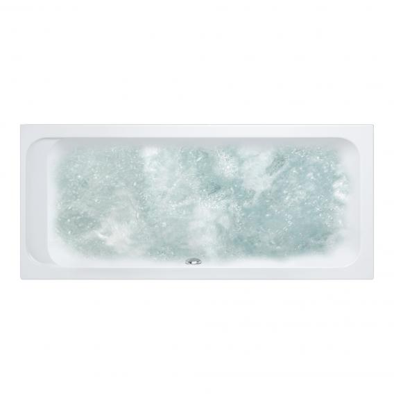 Villeroy & Boch Architectura Duo rectangular whirlbath white, with CombiPool Entry, with bath filler