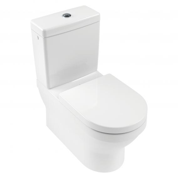 Villeroy & Boch Architectura floorstanding close-coupled washdown toilet white, with CeramicPlus