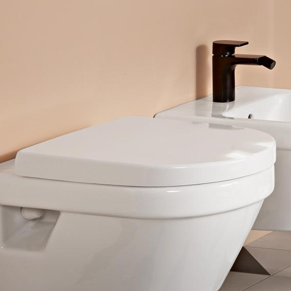 Villeroy & Boch Architectura toilet seat white, with QuickRelease and soft-close