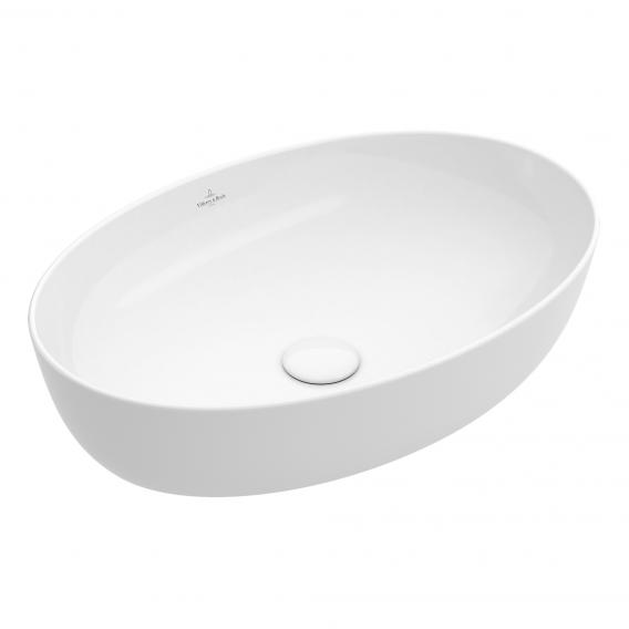 Villeroy & Boch Artis countertop washbasin white, with CeramicPlus