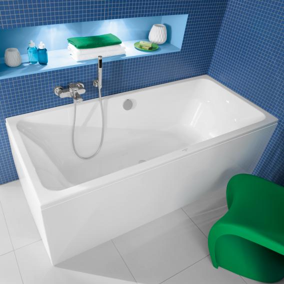 Villeroy & Boch Avento Duo rectangular bath, built-in white