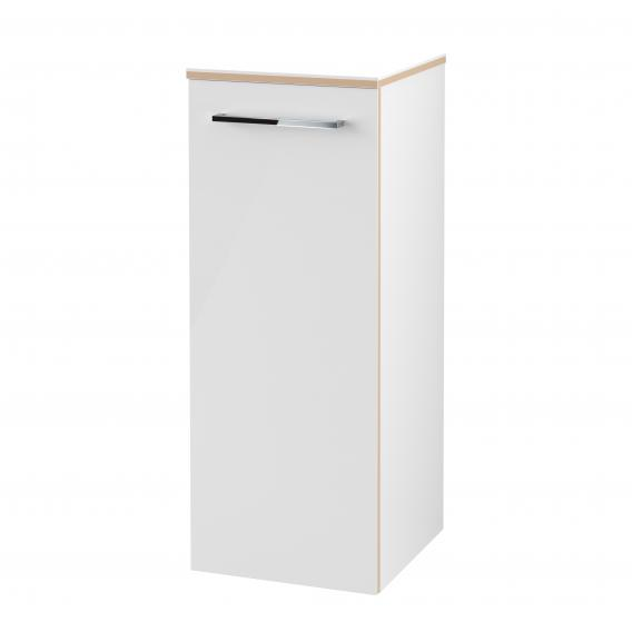 Villeroy & Boch Avento side unit with 1 door front crystal white / corpus crystal white