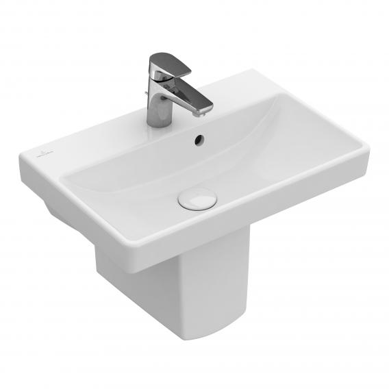 Villeroy & Boch Avento washbasin compact white, with Ceramicplus
