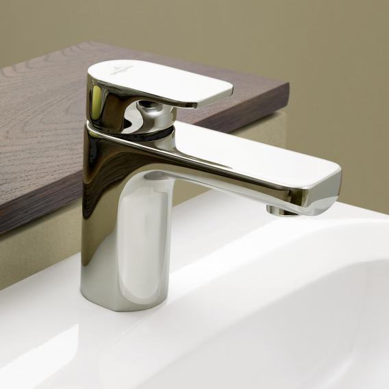 Villeroy & Boch Cult single lever basin mixer without waste set, chrome