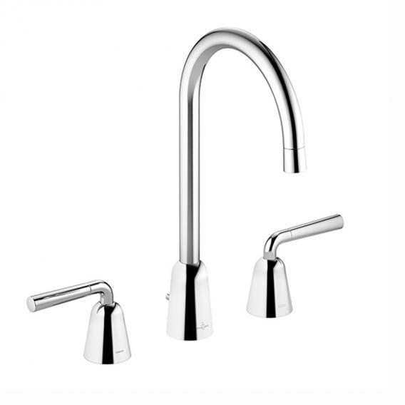 Villeroy & Boch Domicil three hole basin mixer chrome