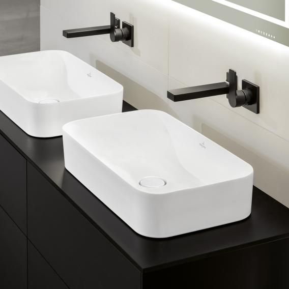 Villeroy & Boch Finion countertop washbasin white, with CeramicPlus, without overflow