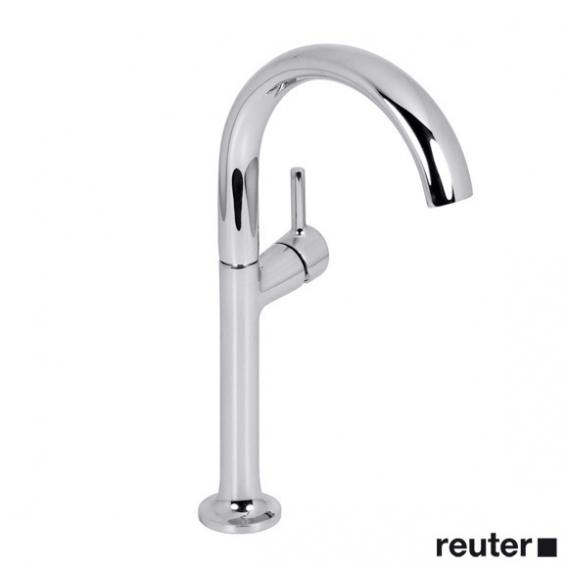 Villeroy & Boch LaFleur single lever basin mixer with raised pillar