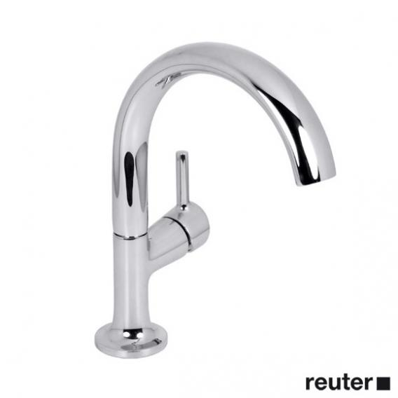 Villeroy & Boch LaFleur single lever basin mixer with pop-up waste set, chrome