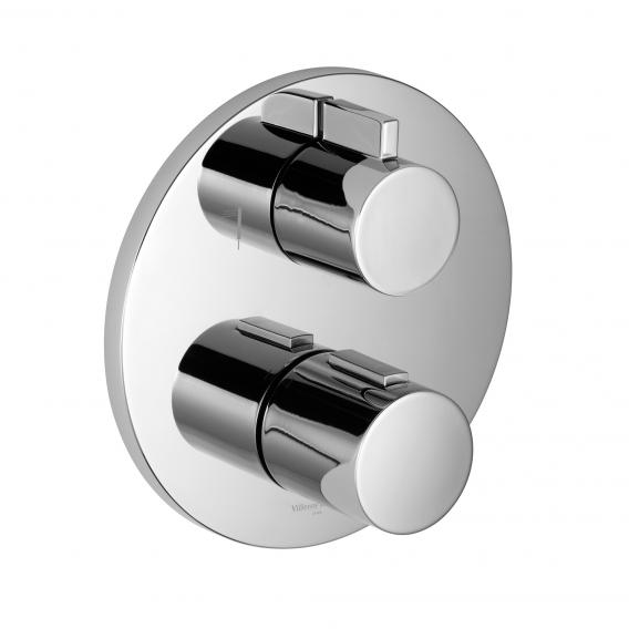 Villeroy & Boch L'Aura concealed thermostat with two-way volume control chrome