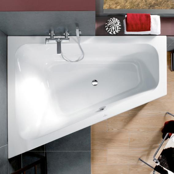 Villeroy & Boch Loop & Friends corner bath, built-in white