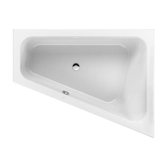 Villeroy & Boch Loop & Friends corner bath, right version white