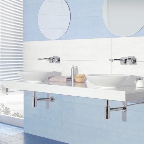 Villeroy & Boch Loop & Friends countertop washbasin, round white, with CeramicPlus, with overflow