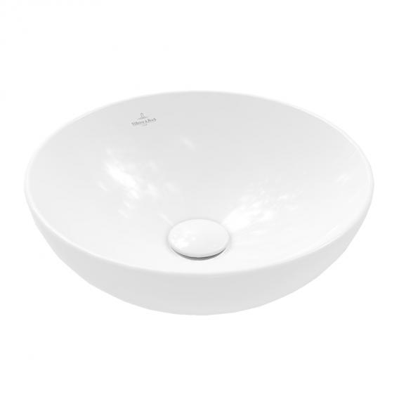 Villeroy & Boch Loop & Friends countertop washbasin white, with CeramicPlus, with overflow