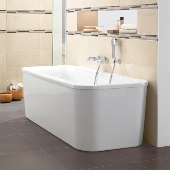 Villeroy & Boch Loop & Friends Duo freestanding rectangular bath white