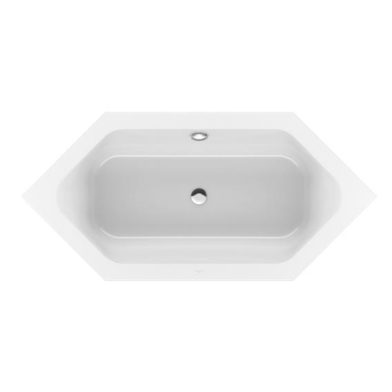 Villeroy & Boch Loop & Friends Duo hexagonal bath white