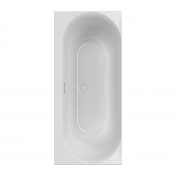 Villeroy & Boch Loop & Friends Duo rectangular bath, built-in white