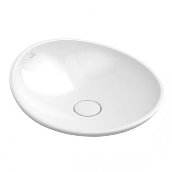 Villeroy & Boch My Nature countertop washbasin white, with CeramicPlus