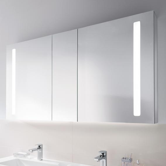 Villeroy & Boch My View 14 mirror cabinet with LED lighting with 3 doors