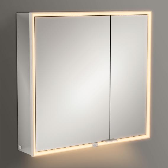 Villeroy & Boch My View Now mounted mirror cabinet with LED lighting with 2 doors with sensor dimmer