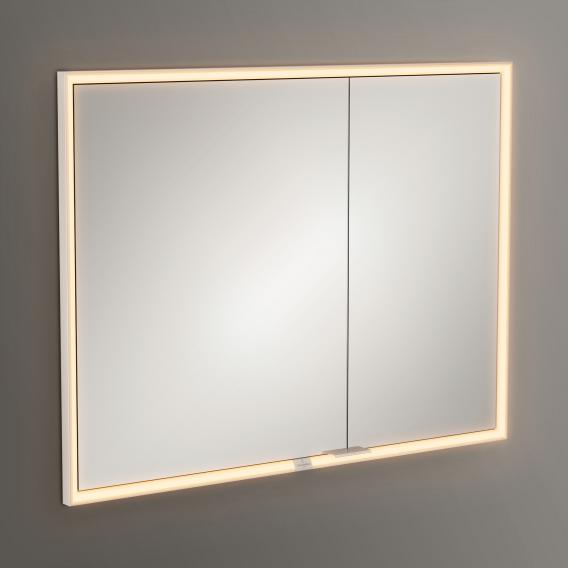Villeroy & Boch My View Now recessed mirror cabinet with LED lighting with 2 doors with sensor dimmer