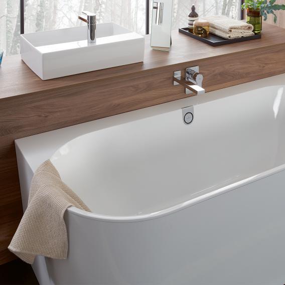 Villeroy & Boch Oberon 2.0 back-to-wall bath white