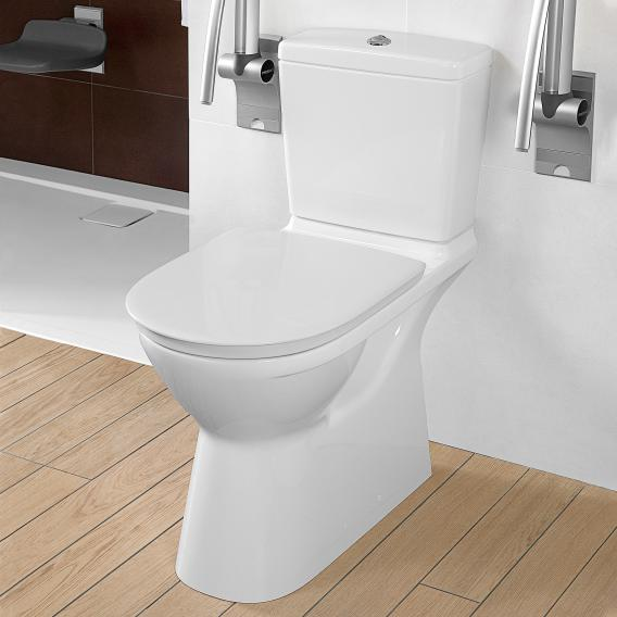 Villeroy & Boch O.novo cistern with side/reversible inlet white