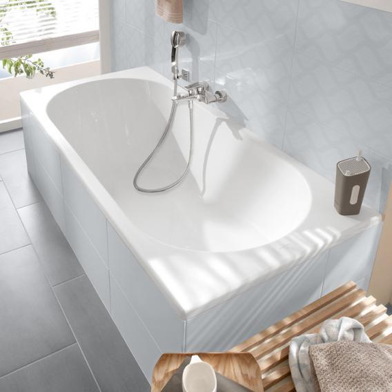 Villeroy & Boch O.novo Solo rectangular bath white