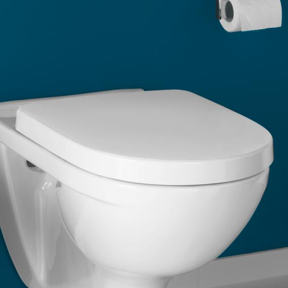 Villeroy & Boch O.novo toilet seat with QuickRelease and soft-close