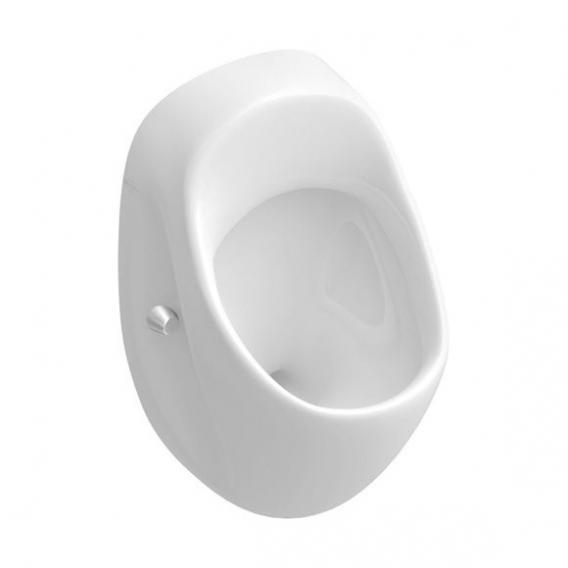 Villeroy & Boch O.novo urinal white, with CeramicPllus, rear supply