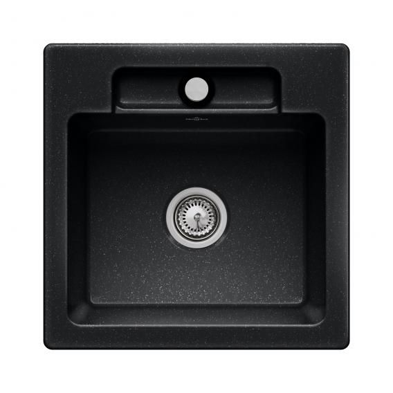 Villeroy & Boch Siluet 50 S built-in sink chromite gloss/without borehole