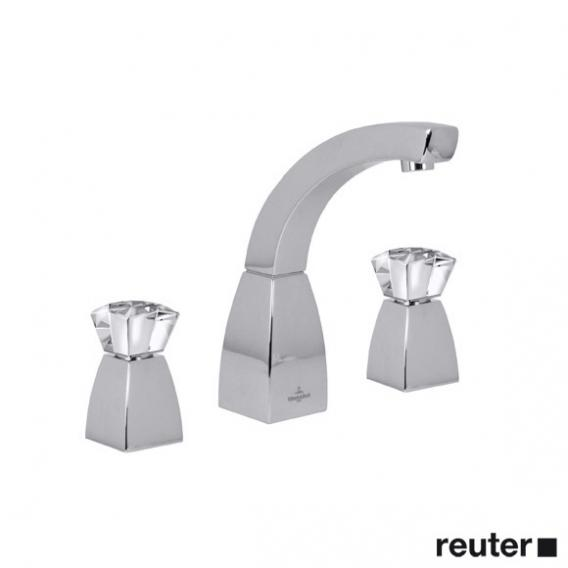 Villeroy & Boch Square exclusive three hole basin mixer