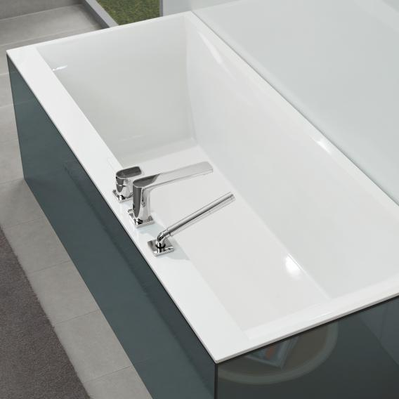 Villeroy & Boch Squaro Edge 12 rectangular bath white