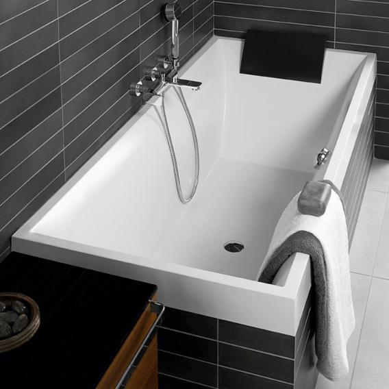 Villeroy & Boch Squaro rectangular bath, built-in white
