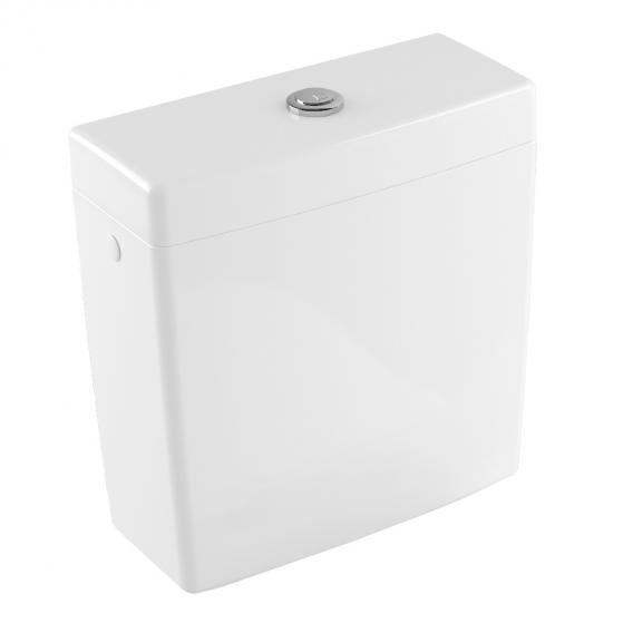 Villeroy & Boch Subway 2.0 close-coupled cistern white, with CeramicPlus