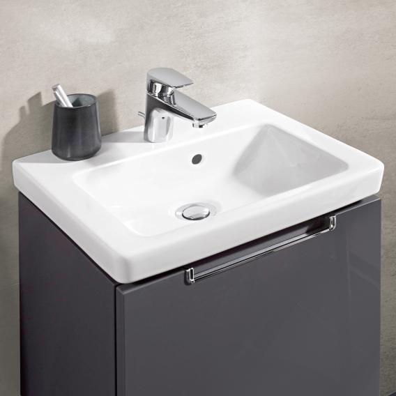 Villeroy & Boch Subway 2.0 hand washbasin white, with CeramicPlus, ungrounded