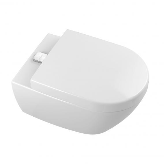 Villeroy & Boch Subway 2.0 ViFresh wall-mounted washdown toilet, open rim, DirectFlush white, with CeramicPlus and AntiBac