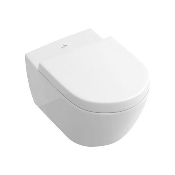 Villeroy & Boch Subway 2.0 wall-mounted washdown toilet white, with CeramicPlus
