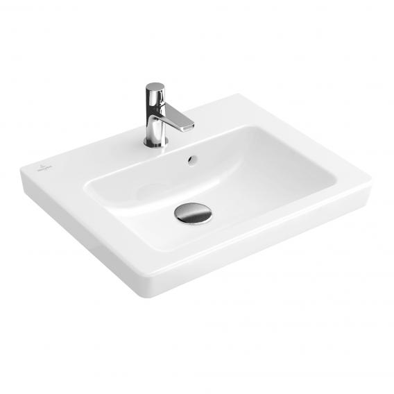 Villeroy & Boch Subway 2.0 washbasin with vanity unit with 1 pull-out compartment white